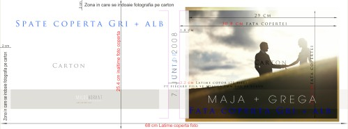 template preview album digital coperta foto