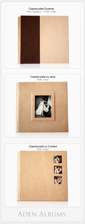 coperti albume digitale de nunta aden