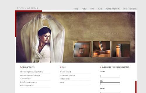 Albume de nunta digitale Aden